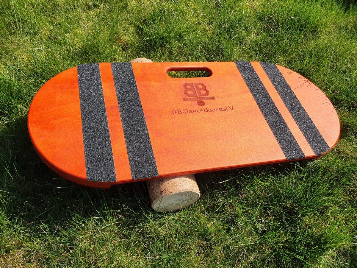 Oranžs Balance Board balansa dēlis