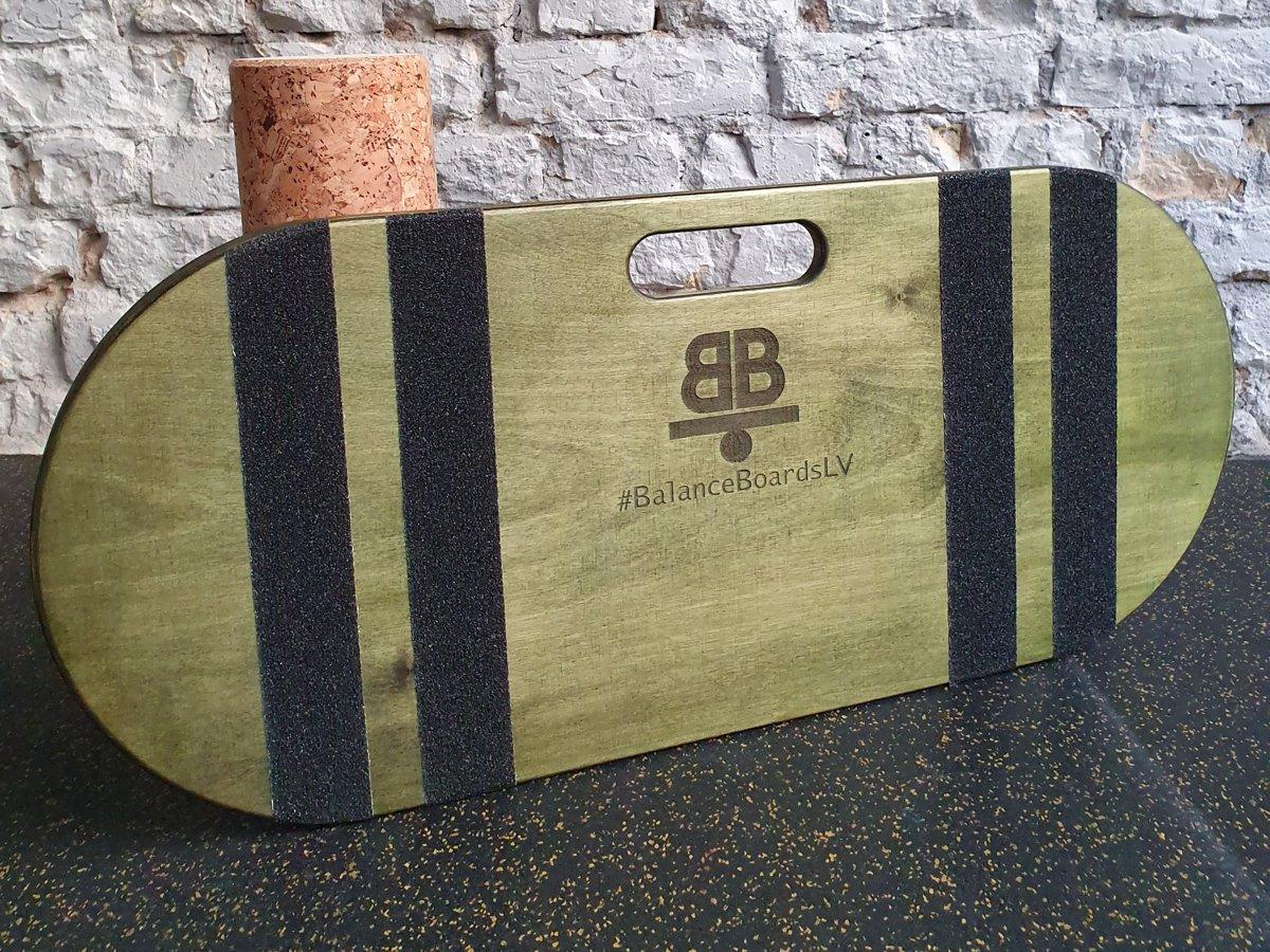 Zaļš BalanceBoard balansa dēlis