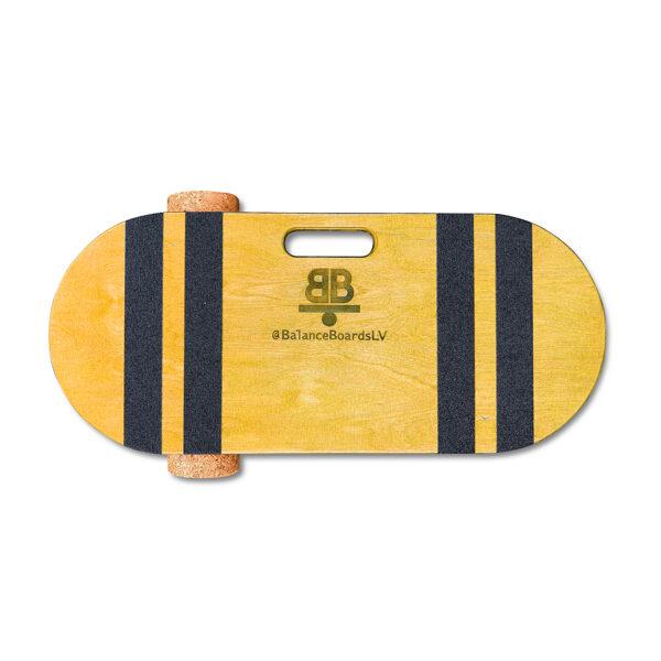 Dzeltens Balance Board balansa dēlis