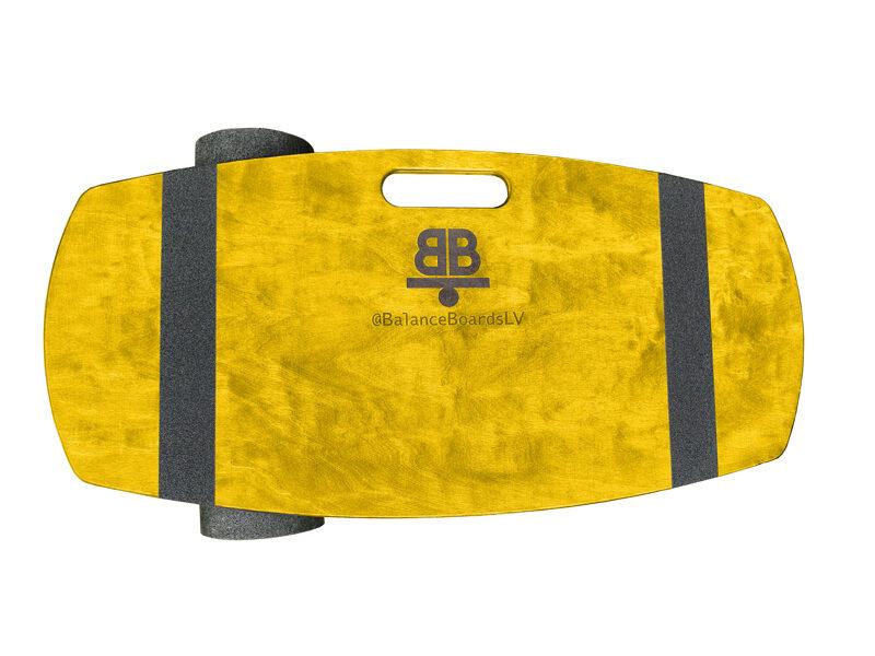 Dzeltens Wakeboard dēlis